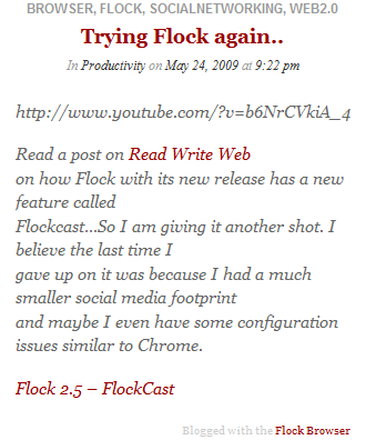flock-post