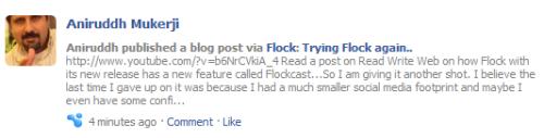 flockcast on fBt